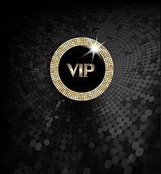 Textura de vetor material de Fundo Preto promoção VIP