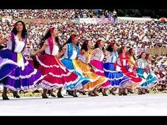 "Click to watch the video from Mexico's Living Culture, ""Guelaguetza"""