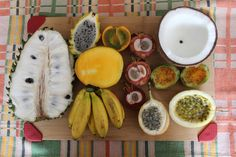 nhuɔm - juilanne: Some Colombian fruit for lunch today!