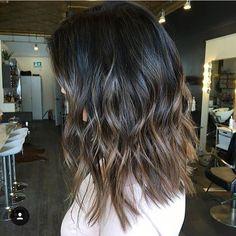 Brunette color melt. Color by @sombounjune  #hair #hairenvy #haircolor…