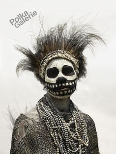 *Skeleton Tribe. Photo taken by Jaime Ocampo Rangel in Mount Hagen, Papua New Guinea.