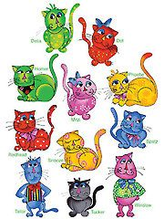 Needlework - Cool Cats Embroidery Designs CD - #431021