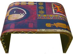 Hand-Painted Lacquer Coffee Table