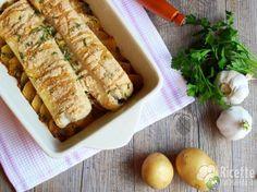Ricetta per Merluzzo con Patate al forno