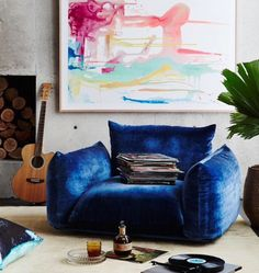 Julia Green of Greenhouse Interiors says there are a few tips that may help you get the most out of your own home& art installation before you take the plunge. Greenhouse Interiors, Painted Chairs, House And Home Magazine, Hanging Art, Hanging Chair, Installation Art, Art Installations, Decoration, Home Art