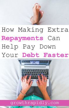 Do you want to learn how to pay off your debt faster and become debt free? Don't miss this article. It shows you how making extra repayments on your debt, using your bonus or tax refund can help reduce your debt.
