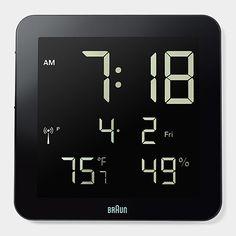Braun Digital Wall Clock Moma Org