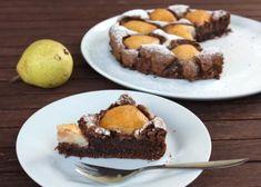 Čokoládový koláč s hruškami, recept | Naničmama.sk Nutella, Sweet Tooth, Paleo, Baking, Desserts, Recipes, Food, Tailgate Desserts, Deserts