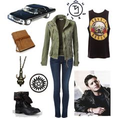 """Dean Winchester"" by lost-and-wreckless on Polyvore"
