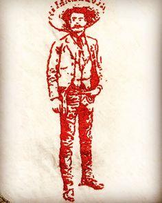 Mexican Revolution General Pancho Villa Murder METAL Trading Card