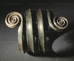 . Large arm spiral for upper arm from Meiersdorf, Austria. Middle Bronze (1500-1200 BCE), Tumulus Culture.