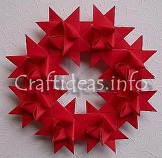 German stars wreath