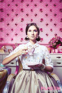 Plastik Magazine: Tea For Two