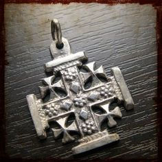 "Historic""Vintage Religious Jerusalem Crusaders' Cross="