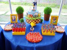 Festa de aniversário Sonic