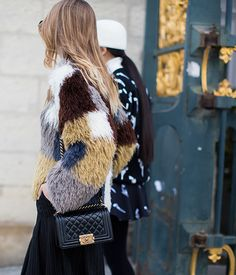 Multicolored fur #wittybyprisca #blogspot #fashion #blog