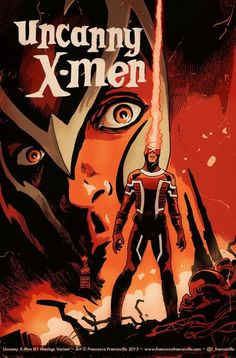 Uncanny X-Men 1variant cover by Francesco Francavilla for the Hastings chain of shops