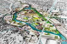 PORT Urbanism and R2 Companies Propose Plan to Revitalize Chicago's Goose Island