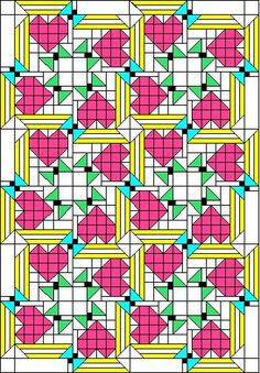 Free Scrap Quilt Pattern | Quilt Patterns from Seattle
