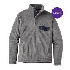 The Patagonia Men's Re-Tool Snap-T® Fleece Pullover is our quintessential fleece made with Polartec® Thermal Pro® to keep you warm all season long. Mens Outdoor Clothing, Outdoor Apparel, Outdoor Gear, Patagonia Pullover Mens, Patagonia Brand, Models Off Duty, Outdoor Outfit, Preppy, Celebrity Style