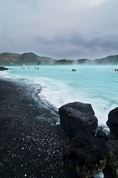 Relax in the warm, mineral-rich waters of the Blue Lagoon outside Reykjavik, Iceland.Relax in the warm, mineral-rich waters of the Blue Lagoon outside Reykjavik, Iceland. Dream Vacations, Vacation Spots, Vacation Days, Italy Vacation, Places To Travel, Places To See, Travel Destinations, Travel Tourism, Iceland Travel