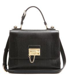 Dolce & Gabbana Monica Embossed Leather Shoulder Bag For Spring-Summer 2017