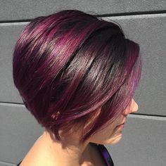 Cut (originally inspired by Ruby Rose) and color (free reign to do whatever I wanted!!) #hair #haircut #haircolor #hairbyapear #nothingbutpixies #pravanavivids #fuschia #shorthair #balayage