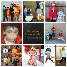 Halloween Costume Collage