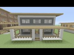 Minecraft How To Build: Easy House Tutorial Step by Step - YouTube