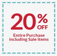 20% off total purchase! Offer good Friday August 8th  - Sunday August 10th Midnight. At checkout use coupon code: AUGUST www.boutiquesupplyco.com