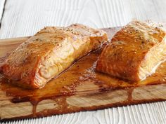 Barbecue planks add a unique flavor to food in this recipe for Cedar Plank Salmon, combining the earthiness of wood and smokiness of the grill.