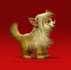 Unicorn Demon Doggy Thingy by imaginism on DeviantArt