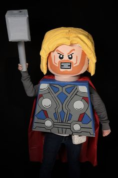 Pin for Later: 38 Epic Halloween Costume Mashup Ideas Lego Thor