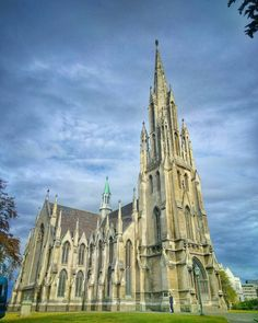 """Just did a """"Quick Live"""" show from this beautiful church in Dunedin. If you want to see it along with a possible witch-sighting scroll down a bit on my FB page! :). (This is a quick mobile shot edited with Snapseed.) by treyratcliff"""