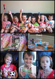 Favorite Things Party for Kids! (she: Veronica) www.oneshetwoshe.com