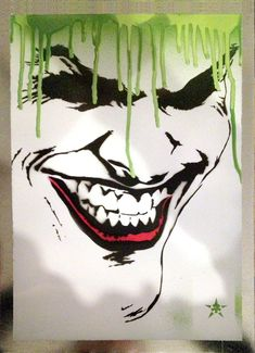 joker:: by josiahbrooks (print image) Comic Books Art, Comic Art, Joker Painting, Joker Art, Joker Batman, Gotham Batman, Batman Art, Batman Robin, Univers Dc