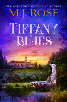 """My new novel coming Aug 7. Takes place at Louis Comfort Tiffany's summer estate. """"Everything looked more beautiful through the stained glass... except her past."""""""