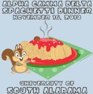 Alpha Gamma Delta-Squirrels and Spaghetti! IT'S ONE OF OUR SHIRTS HOW IS THIS ON PINTEREST OMG.