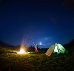 Change your perspective.....spend a night outdoors