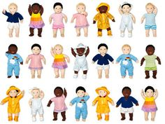 Gender neutral dolls @ Ikea