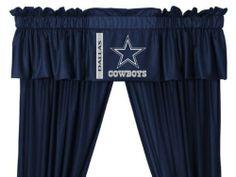 Dallas Cowboys Window Treatments Valance and Drapes by Sports Coverage, http://www.amazon.com/dp/B007J6D8SY/ref=cm_sw_r_pi_dp_fLUgsb1W153TK