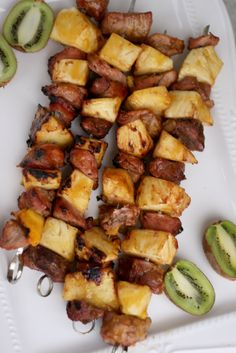 Grilled Pork Pineapp
