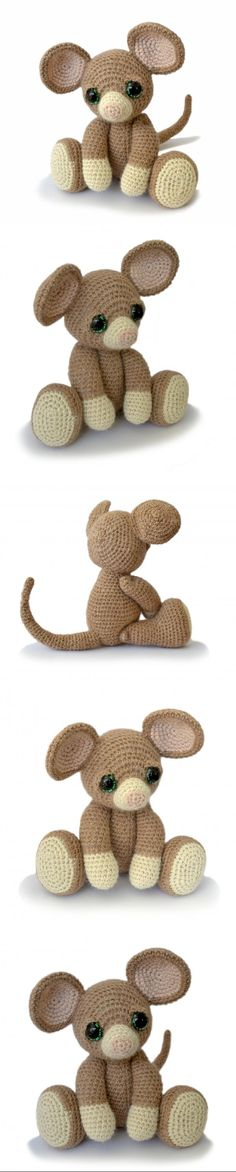 Basil The Mouse Amigurumi Pattern
