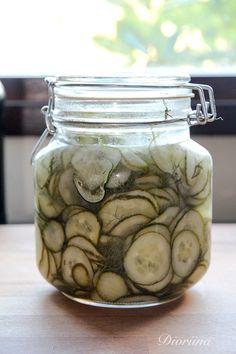 Cucumber, Mason Jars, Vegetables, Recipes, Food, Recipies, Essen, Mason Jar, Vegetable Recipes