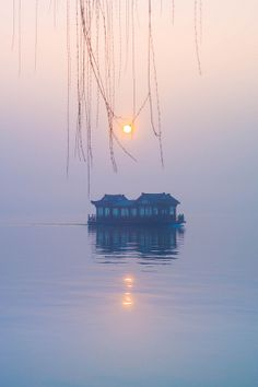 Diamond necklace upon sky | Hangzhou, Zhejiang, China