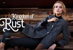 """""""Kingdom of Rust"""" // Autumn - Winter Collection by Forel Greece // Production: Photography: Konstantinos Coutayar Editorial, Fall Winter, Autumn, Fashion Lookbook, Winter Collection, Rust, 18th, Blazer, Greece"""