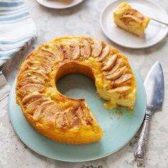 Treats for Mother's Day Recipe Boards, Oven Racks, Apple Slices, Apple Cake, Custard, Amazing Cakes, Allrecipes, Vanilla Cake, Cake Recipes