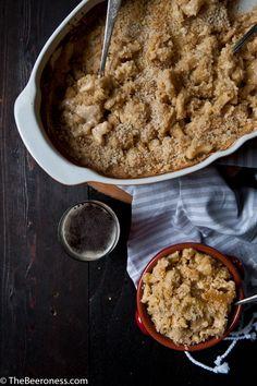 How to Make The Creamiest Baked Mac N Cheese: Gouda Cheddar Beer Mac