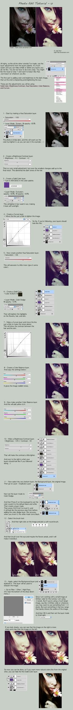 Photo Edit Tutorial 12 by night-fate.deviantart.com on @deviantART