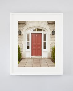 Ursula, photograph of a red modern rustic door in Old Quebec City Old Quebec, Quebec City, Fine Art Photography, Landscape Photography, Nautical Prints, Dining Room Sideboard, Accent Walls In Living Room, Modern Rustic Decor, Rustic Doors
